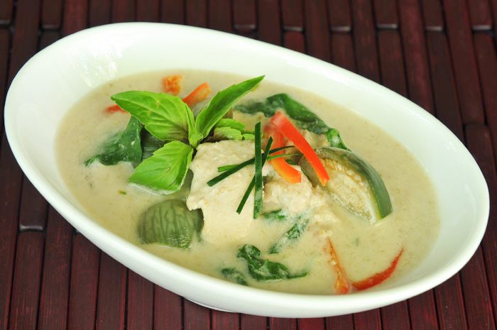 Green Curry with Chicken and Eggplant | Gang Keow Wan Gai ...