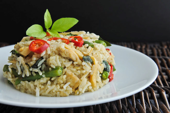 Green Curry Fried Rice Green Curry Fried Rice | Khao