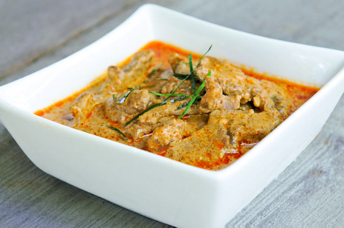 Panang Curry with Beef | Gang Panang Neua ...