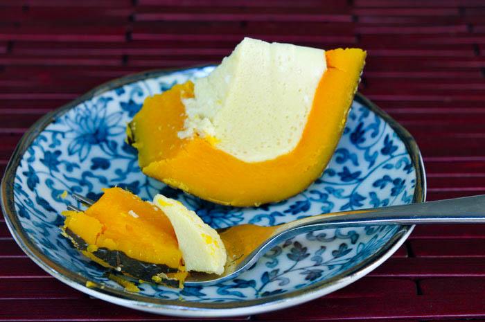 Thai Pumpkin Custard | Sankaya | สังขยาฟักทอง
