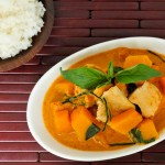 Red Curry with Pumpkin | Gang Dang Fak Tong | แกงเผ็ดฟักทอง
