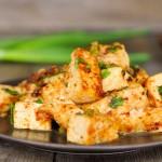 Tofu with Roasted Chili Paste | Tau Hu Nam Prik Pao | เต้าหู้น้ำพริกเผา