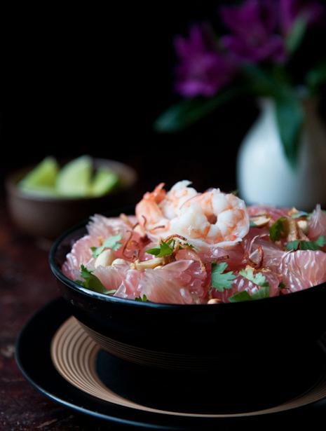 Pomelo Salad | Yum Som-O | ยำส้มโอ - Rachel Cooks Thai