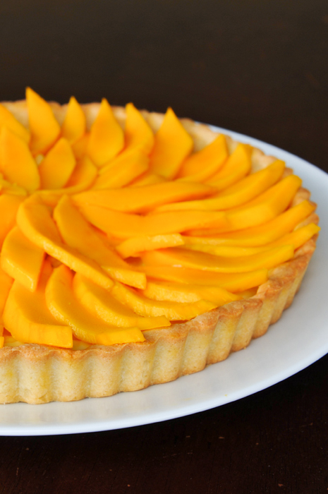 Thai-Inspired Mango Fruit Tart