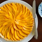 Mango Coconut Fruit Tart
