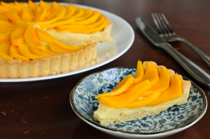 Thai-Inspired Mango Coconut Fruit Tart