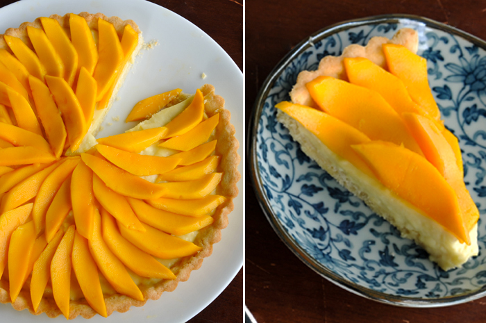 Thai-Inspird Mango Coconut Fruit Tart
