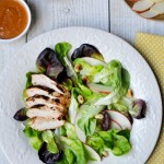 Thai-Inspired Chicken Salad with Peanut Sauce Dressing