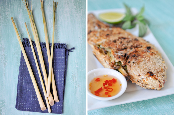 Salt-Crusted Grilled Fish with Lemongrass | Pla Pao | ปลาเผาเกลือ