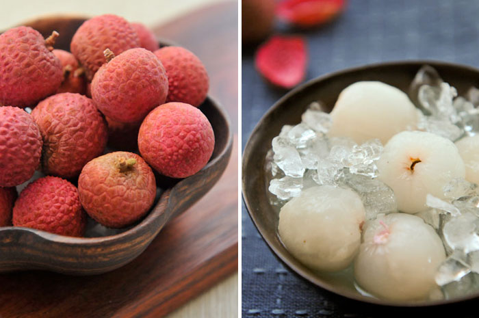 Snacking on Tropical Fruits
