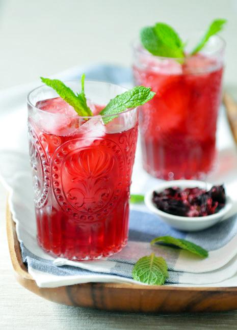 Hibiscus Drink | Nam Krachiap | น้ำกระเจี๊ยบ
