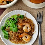 Shrimp Noodle Clay Pot