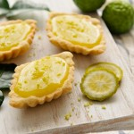 Thai-Inspired Mini Kaffir Lime Tarts
