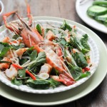 Grilled Prawns with Kaffir Lime Dressing | Saeng Wa Goong Pao | แสร้งว่ากุ้ง thumbnail