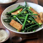 Chinese Chives with Tofu